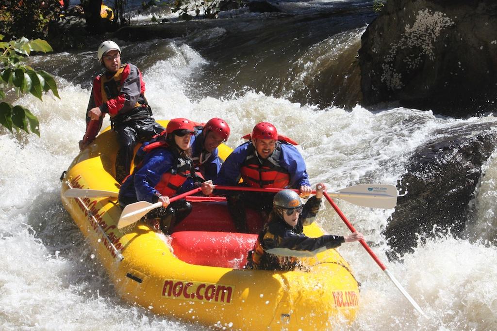 Cheoah raft - Velez